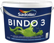 Sadolin Bindo 3 Emulsion Paint White 10l