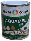 Pentacolor Aquamel Mat Emulsion Paint Black 0.7kg