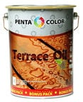 Pentacolor Terrace Oil 3.5l + 1l Dark Brown