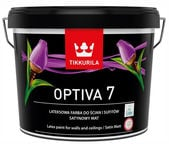 Tikkurila Optiva Satin Matt 7 BA 9l White