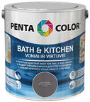 Pentacolor Bath & Kitchen Emulsion Paint Apricot 2.5l