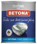 Chemolak Betona Paint For Concrete Surfaces Yellow 0.75l