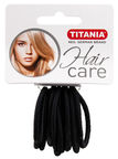 Titania Hair Bands 9pcs Black
