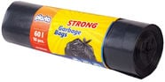 Plasta Strong Garbage Bags 60l 10pcs Black