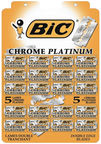 BIC Chrome Platinum Double Edge Blades 20x5pcs