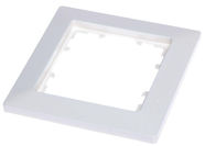 Siemens Delta Line Single Frame 5TG2551-0P White