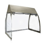 Home4you Top Cover And Mosquito Net For Hammock Sunday Beige
