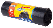 Plasta Garbage Bags Strong 30l 20pcs Black