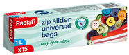 Paclan Zip Slider Freezer Bags 137100 1l 15pcs