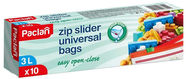 Paclan Zip Slider Freezer Bags 137120 3l 10pcs