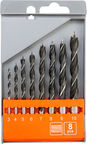 Vorel Wood Drill Bit Set 3-10mm 8pcs