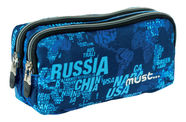 Must Energy Map Letters School Pencil Case