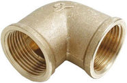 "Sobime Elbow Connector Brass 3/4""FF"