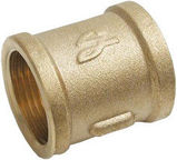 "Sobime Pipe Coupling Brass 3/4""x1/2"""