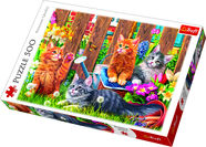 Trefl Kittens In The Garden Puzzle 500pcs 37326