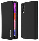 Dux Ducis Wish Bookcase For Huawei P20 Pro Black