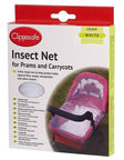Clippasafe Insect Net For Prams And Carrycots White