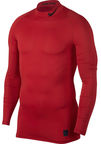 Nike Men's T-shirt Pro Cool Compression Mock LS 838079 657 Red 2XL