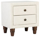 Home4you Nightstand Emilia Light Beige 28801