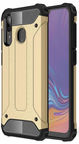 Hurtel Hybrid Armor Back Case For Samsung Galaxy A30 Gold