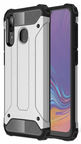 Hurtel Hybrid Armor Back Case For Samsung Galaxy A30 Silver