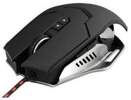 Varr Pro X-Steel Metal Gaming Mouse Black