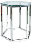 Signal Meble Chair Lawa Conti Transparent/Silver