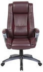 Home4you Office Chair Calvin Dark Red