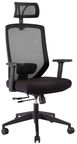Home4you Office Chair Joy Black