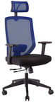 Home4you Office Chair Joy Black/Blue