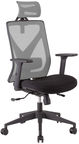 Home4you Office Chair Mike Black/Grey