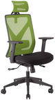 Home4you Office Chair Mike Black/Green