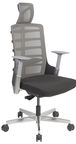Home4you Office Chair Spinelly Black/Grey