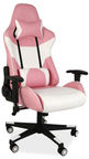 Signal Meble Office Chair Lotus White/Pink