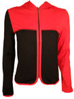 Bars Womens Jacket Black/Red 124 M