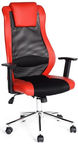 SN Office Chair Nasus 67x59x116-126cm Black/Red