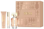 Hugo Boss The Scent For Her 50ml EDP + 50ml Body Lotion + 7.4ml EDP 2019