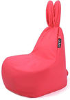Qubo Bean Bag Mommy Rabbit Pink Soft