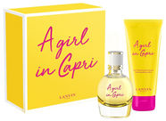 Lanvin A Girl In Capri 50ml EDT + 100ml Body Lotion