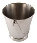 Sharda Metal Bucket With Base D12cm