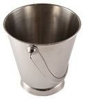 Sharda Metal Bucket With Base D9cm