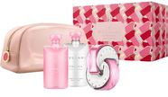 Bvlgari Omnia Pink Sapphire 65ml EDT + 75ml Body Lotion + 75ml Shower Gel + Cosmetic Bag