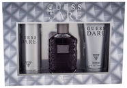 Guess Dare for Men 100ml EDT + 200ml Shower Gel + 226ml Deodorant Spray