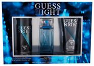 Guess Night 100ml EDT + 226ml Body Spray + 200ml Shower Gel