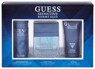 Guess Seductive Blue 100ml EDT + 226ml Body Spray + 200ml Shower Gel