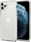 Spigen Liquid Crystal Glitter Back Case For Apple iPhone 11 Pro Max Transparent