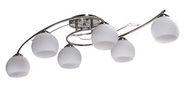 Verners Romance Ceiling Lamp 6x40W E14 Nickel