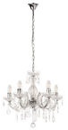 Verners Therese Ceiling Lamp 5x40W E14 Chrome