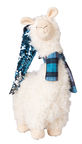Home4you Laama M w/ Blue Hat And Scarf