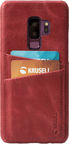Krusell Sunne 2 Card Back Case For Samsung Galaxy S9 Plus Red